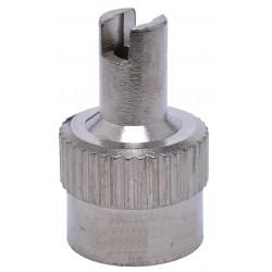 Ventilio dangtelis metalinis